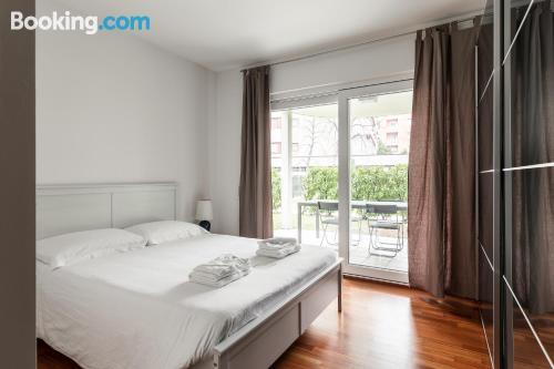 Great, 2 bedrooms. Comfortable!
