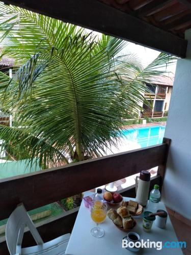 One bedroom apartment apartment in Porto Seguro with pool.