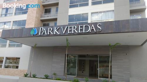 Apartamento en Rio Quente con conexión a internet.