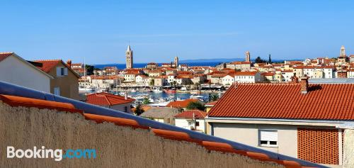 Downtown in Rab. Child friendly apartment!