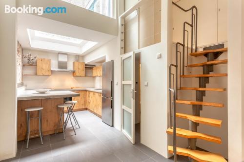 Apartamento de 65m2 en Haarlem para dos personas.