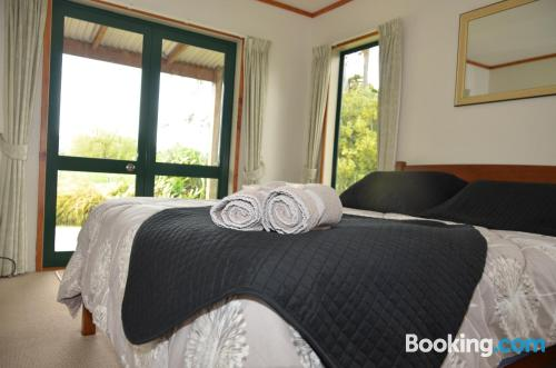 3 bedrooms place in Havelock North perfect for 6 or more.