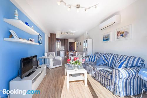 Place in Protaras with heating and internet