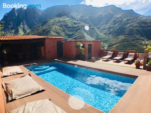 Apartamento apto para familias en Agaete ¡Con vistas!