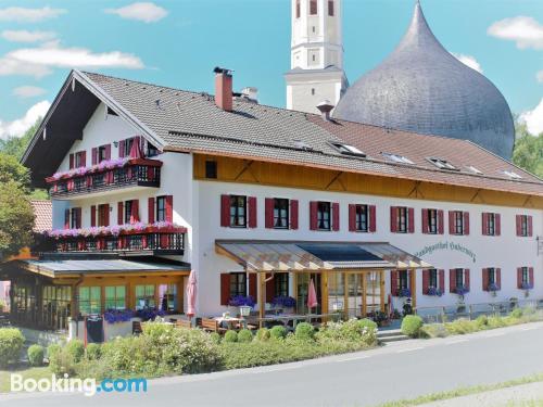 Acogedor apartamento dos personas en Rosenheim