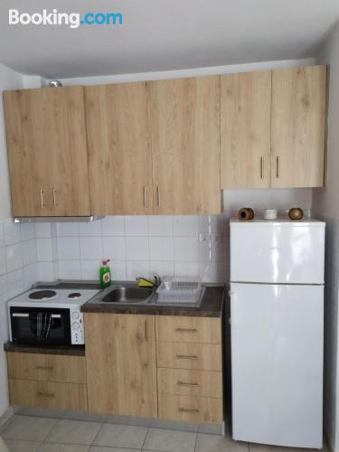 Apartment for 2 in Agia Triada with air-con.