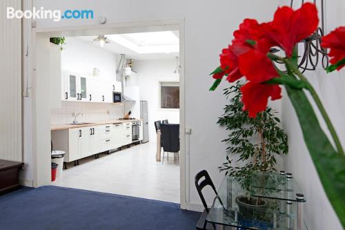 Baby friendly place in central location of Amsterdam
