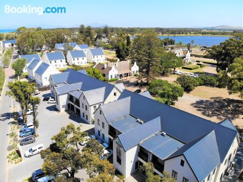 Be cool, there's air! Somerset West from your window!
