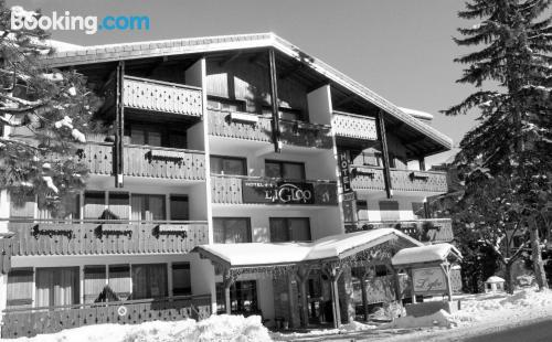Homey place in center of Morzine