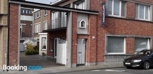 Good choice, two bedrooms in superb location of Kortrijk