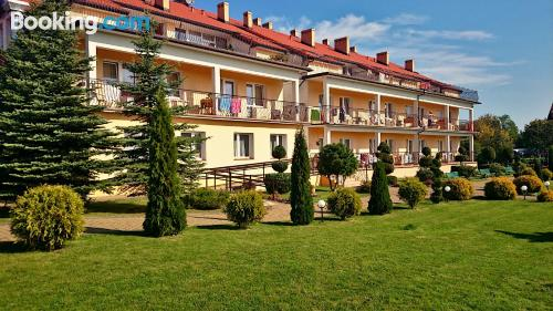 Apartamento con terraza en Sarbinowo.