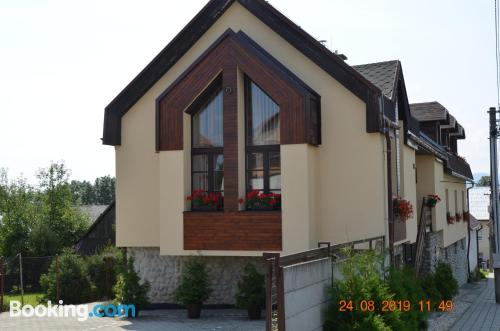 Place for 2 in Gerlachov with internet
