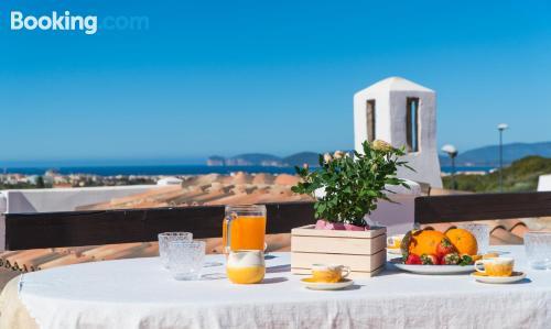 Apartment in Alghero. Terrace!