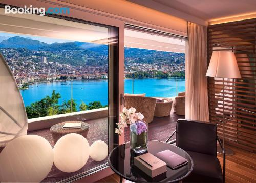 1 bedroom apartment apartment in Lugano with terrace and wifi.