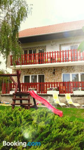 Superb location in Gyenesdiás with swimming pool and terrace