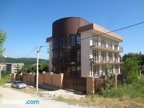 Terrace and wifi apartment in Dzhubga in best location