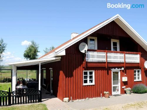 Apartamento con terraza ideal para cinco o más