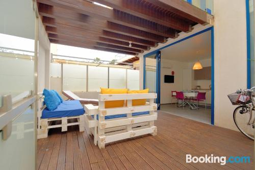 Place in Alcamo Marina. Ideal for families