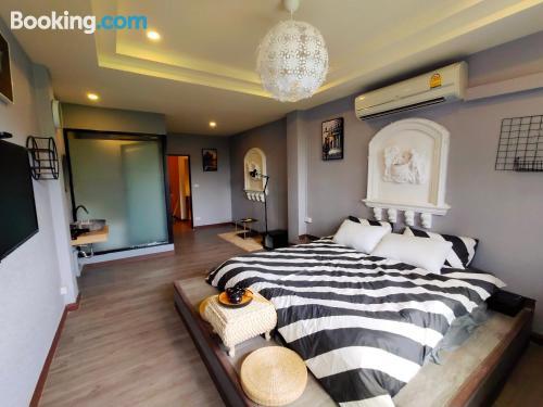 Apartamento para parejas con internet.