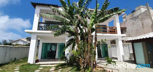 Apartment with internet in Cabo Frio.