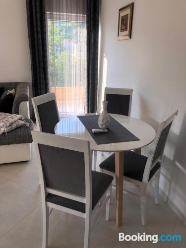 Stay in Tivat with terrace!.