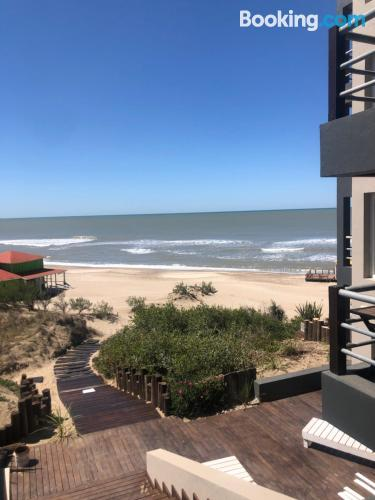 Two bedrooms place in Pinamar. Wifi!.
