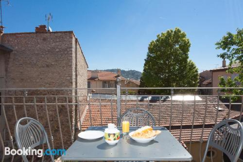 Ideal one bedroom apartment with terrace