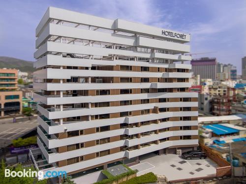 Apartamento con conexión a internet en Ciudad Metropolitana de Busan