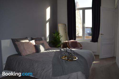 Spacious apartment in Ghentin amazing location.