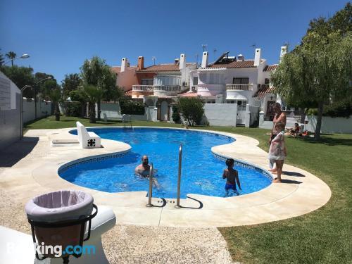 In Malaga with air-con