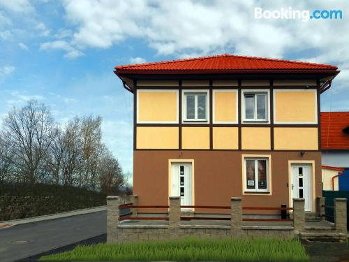 Good choice 1 bedroom apartment. Cheb from your window!