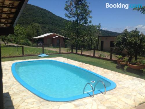 Swimming pool and internet place in Florianópolis with 2 bedrooms