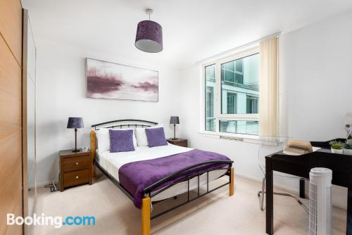 60m2 apartment in London with wifi.