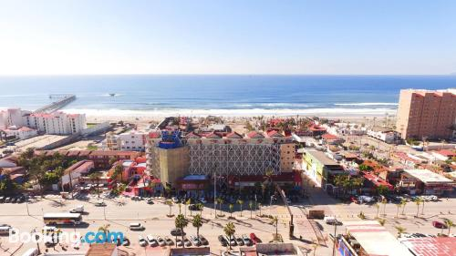 Homey home in Rosarito with internet
