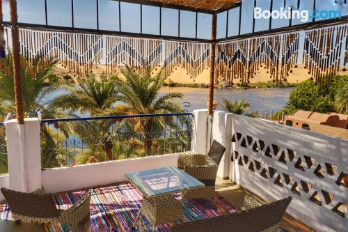 Apartment in Aswan with terrace and wifi.
