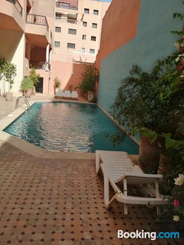2 bedrooms apartmentin central location.