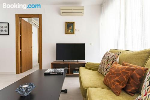 Home with internetin center.