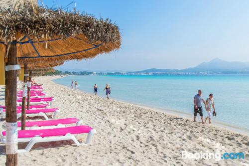 Alcudia is waiting! With wifi and terrace