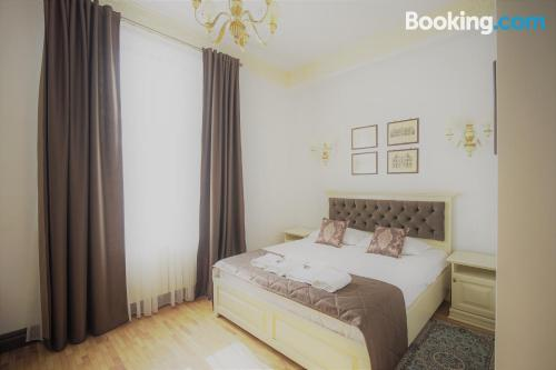 One bedroom apartment place in Piatra Neamt with wifi.