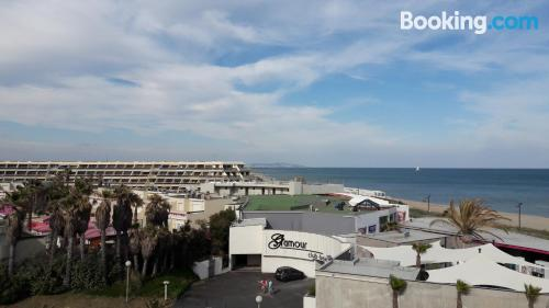 Pequeño apartamento en Cap d'Agde para parejas