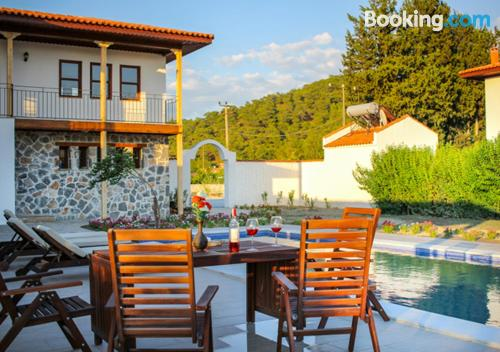 Family place in Mugla convenient for families.