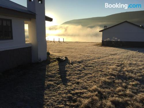 Dullstroom home with heating