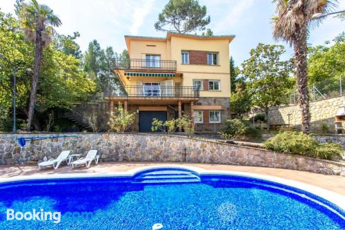 Dogs allowed place in Corbera De Llobregat with terrace and swimming pool.