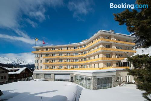 Apartment in Pontresina with heat