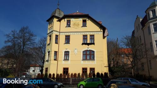 Apartment for groups in Liberec.