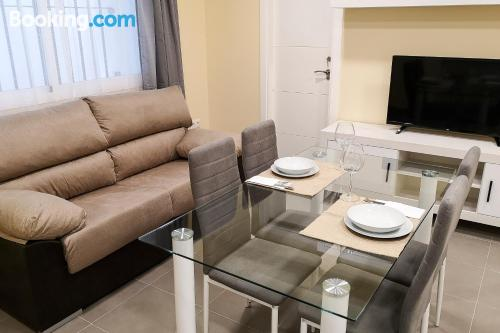 Apartment for two people in Jerez de la Frontera with internet.