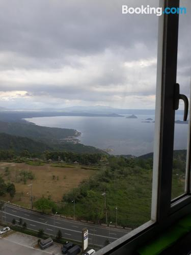 In Tagaytay. Be cool, there\s air!