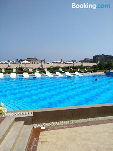 Home with swimming pool, terrace and wifi