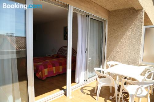 Apartment with internet in great location