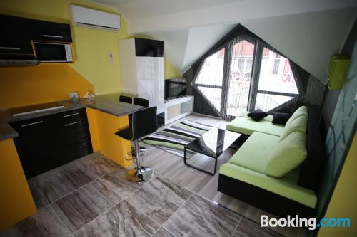 Apartamento apto para niños en Kaposvar
